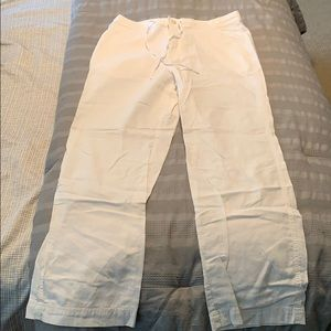 Men's White Linen Pants by INC